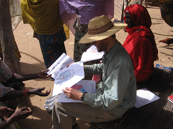 Mike in Niger